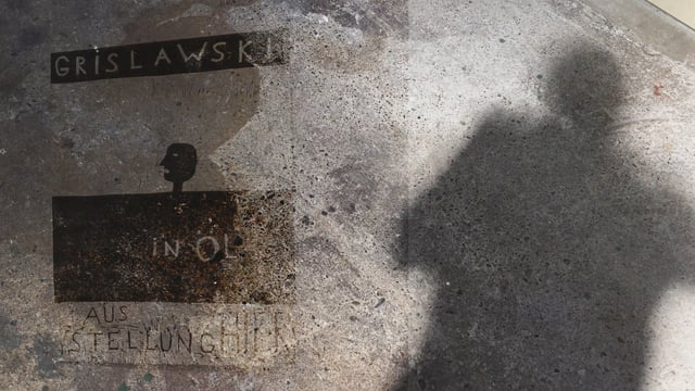 Was tut Not? Grislawski in Öl.